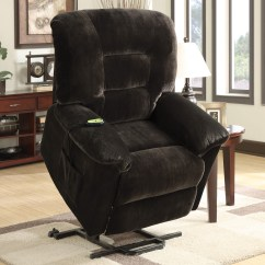 Power Recliner Chairs Reviews Balance Ball Chair Coaster Company Lift Chocolate