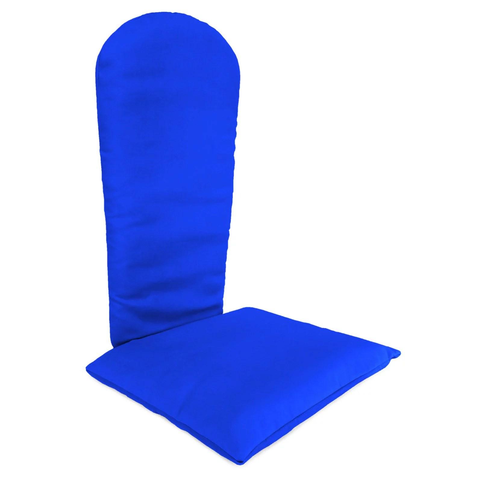making adirondack chair cushions wheelchair dimensions jordan manufacturing 49 x 20 5 acrylic cushion bright castanet stripe