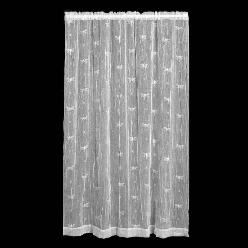 Heritage Lace Dragonfly Curtain Panel