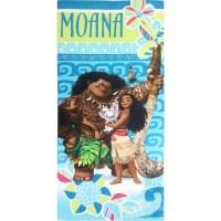 """Disney Moana """"Team"""" Beach Towel - Walmart.com"""