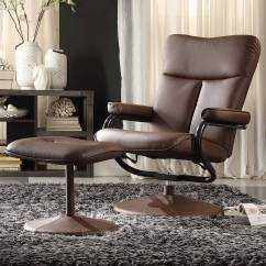 Reclining Chair With Ottoman Leather Eames Style Office Chairs Bosworth Bonded Swivel Departments