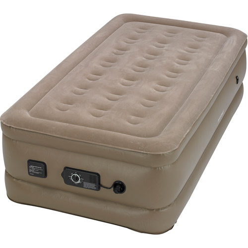 Instabed Raised Air Bed with NeverFlat AC Pump Twin  Walmartcom