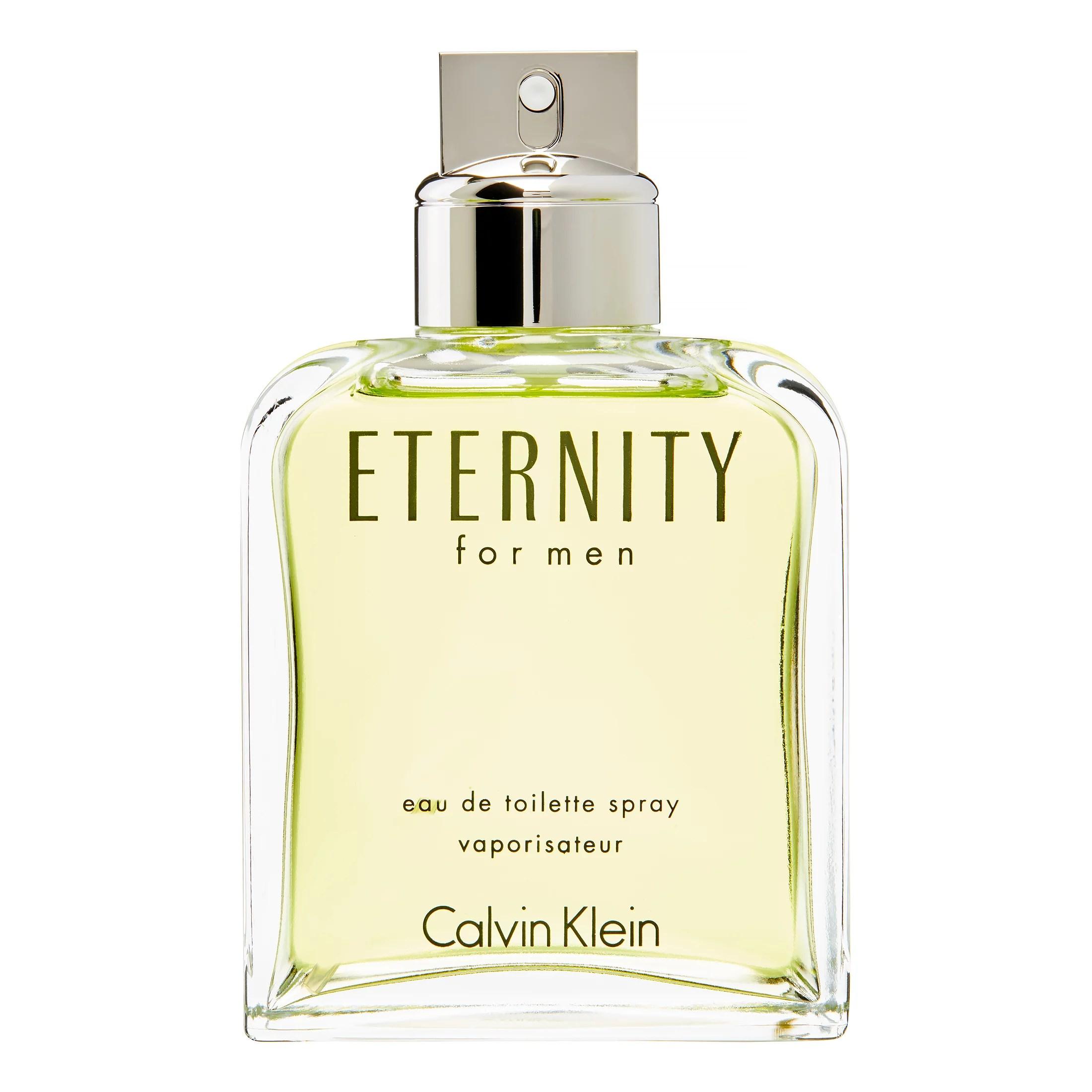Calvin Klein Eternity Eau De Toilette Spray, Cologne for Men, 6.7 Oz