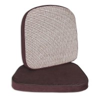 Chair and Stool Cushion, 2 inch, Brown, 17 1/2 x 18, 1/EA ...