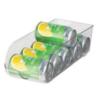 Clear Stackable Soda Can Holder for Fridge, Freezer and