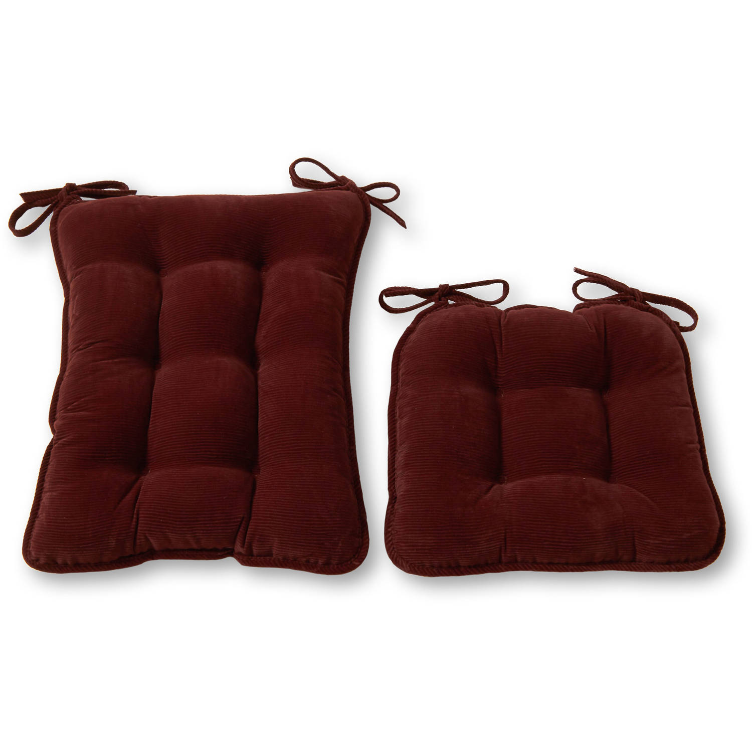 dining chair cushions non slip hydraulic styling gripper 15 quot x 16 sophia stripe tufted