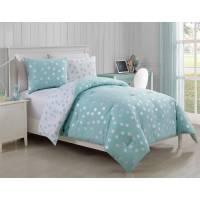 Dotty Metallic Comforter Set - Walmart.com