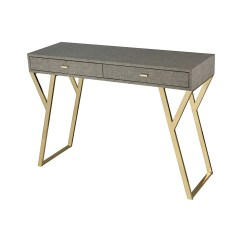 Stickley Sterling Sofa Table 3 Seater Designs In Kenya Sunset Plaza Console Leather With Gold