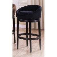 Armen Living Igloo 30 in. Low Back Bar Stool