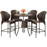 Best Choice Products Outdoor Patio Furniture 5-Piece ...