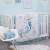Baby Girl Crib Bedding Set by Disney - Ariel Sea Princess ...