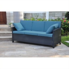 Aqua Sofa Risers For Elderly Pemberly Row Patio In Black And Blue