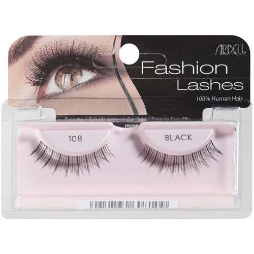 ARDELL False Eyelashes  Fashion Lash Black 108  Walmartcom