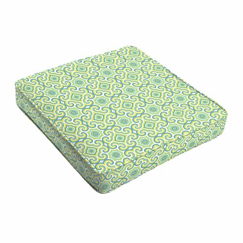 lime green chair pads high back chairs with arms winston porter indoor outdoor dining cushion walmart com