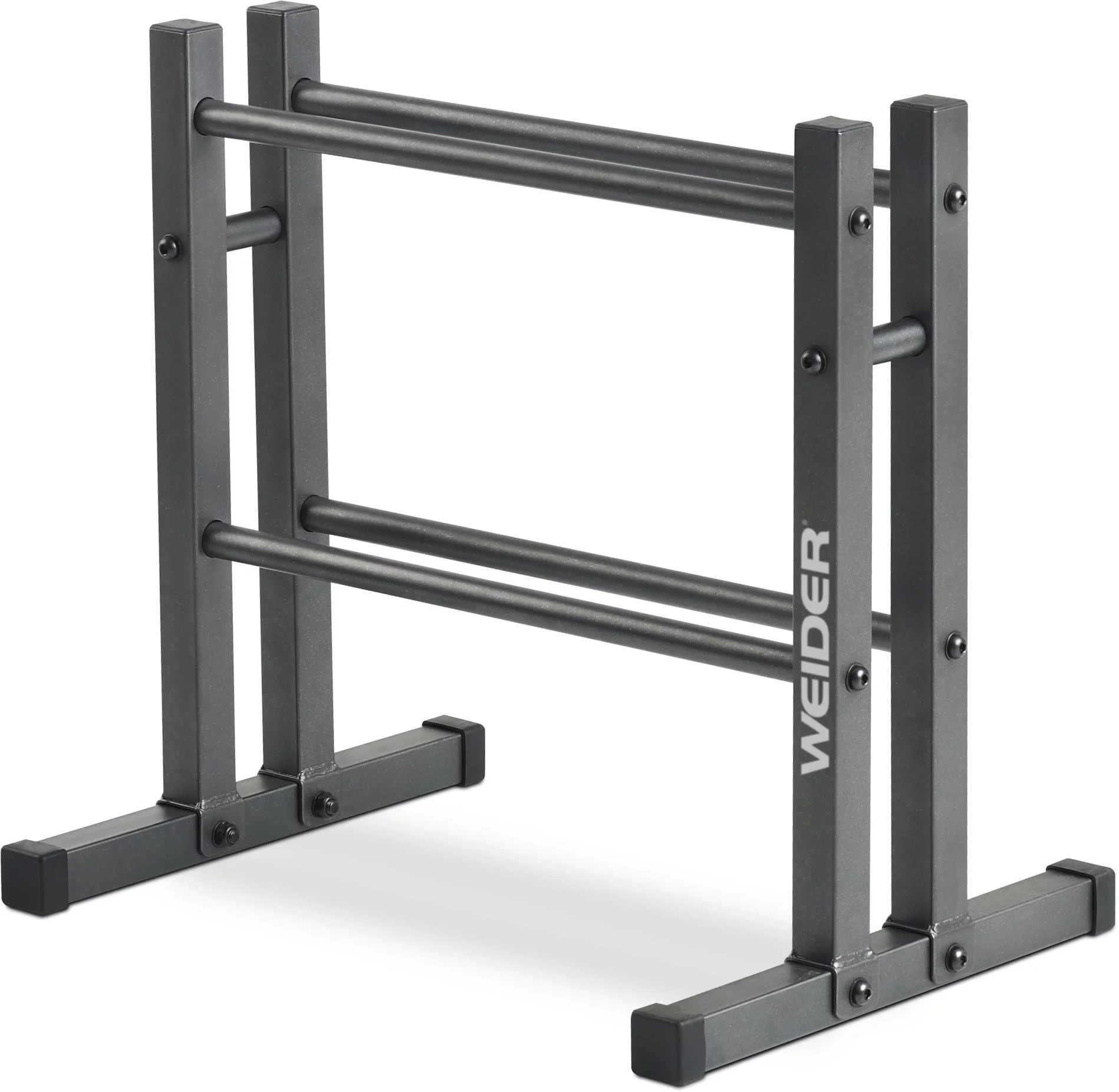 weider two tier utility rack for dumbbell kettlebell and medicine ball storage walmart com
