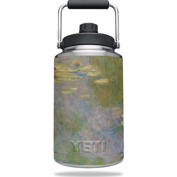 Mightyskins Skin Yeti Gallon Jug - Almond Blossom Protective Durable And Unique