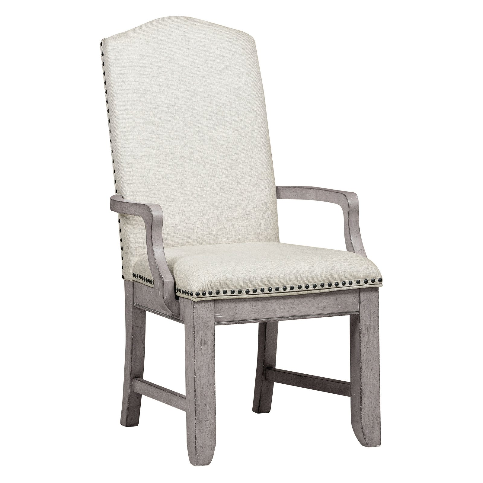 upholstered arm dining chair folding singapore slf room gear prospect hill back walmart com