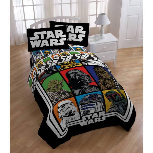 Disney - Star Wars Classic Twin Full Bedding Comf