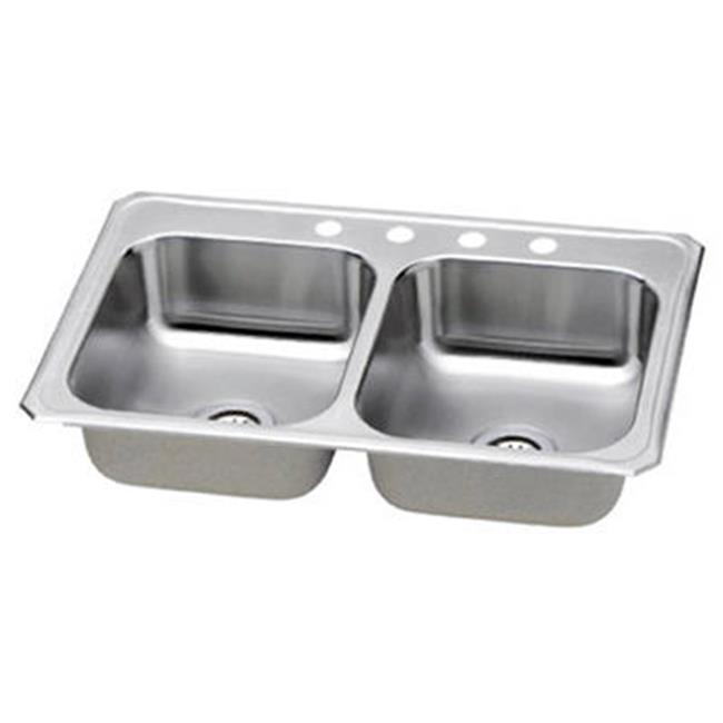 elkay kitchen sinks renovation pictures nbc33224 33 x 22 7 in good series stainless steel qty