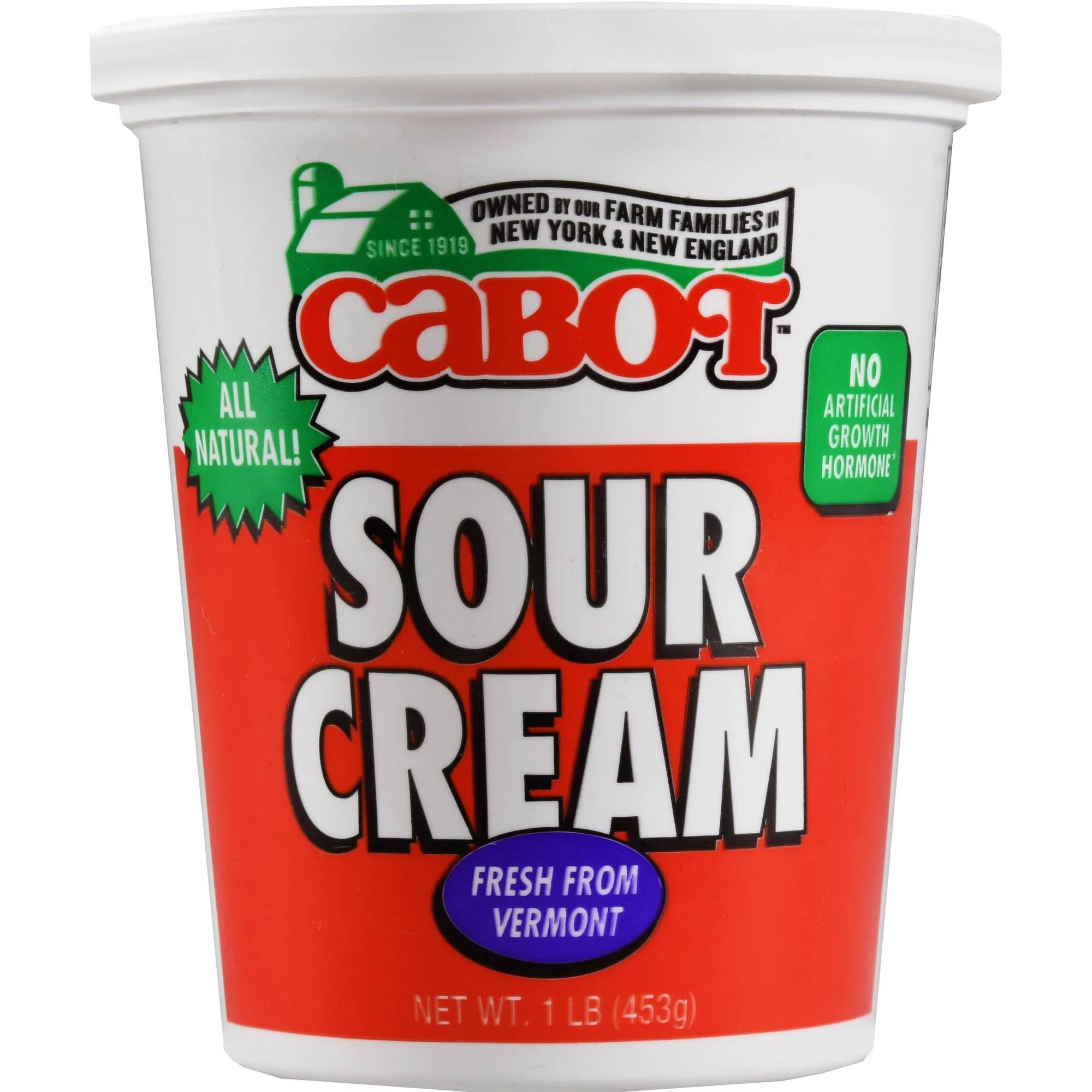Cabot Sour Cream 1 lb Walmartcom