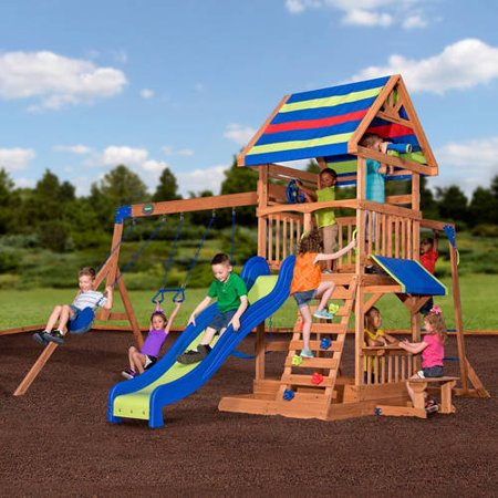 save hundreds on outdoor swing sets at