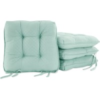 Better Homes and Gardens Quilted Chair Pads, Set of 4 ...