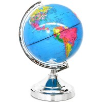 Mainstays Rotating Globe lamp with Touch Feature, Multiple ...