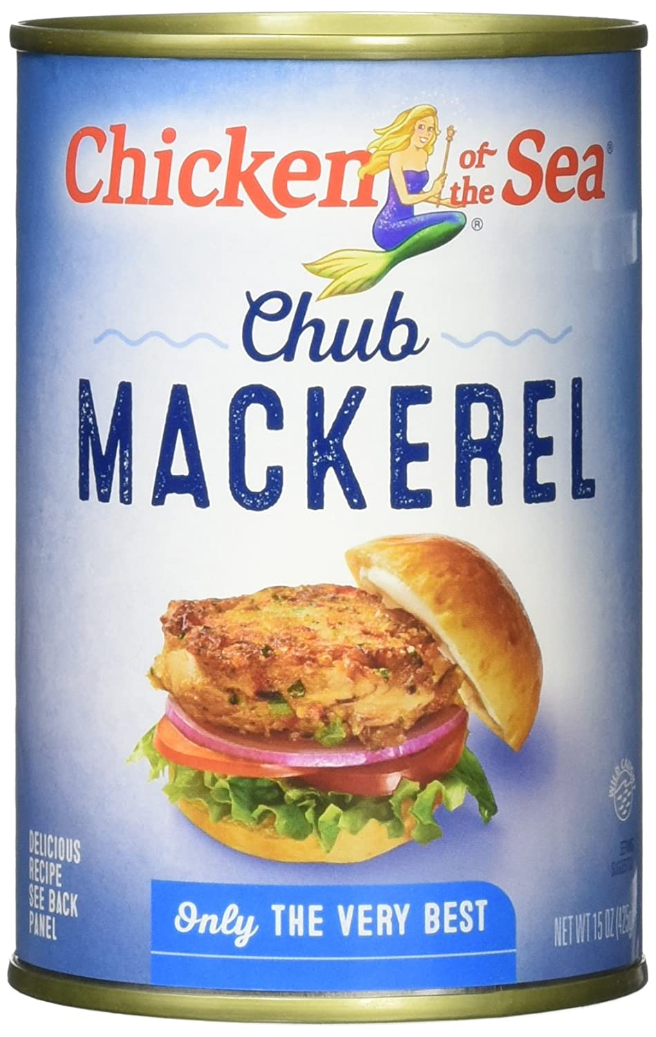 Chicken of the Sea Chub Mackerel 15 Oz Cans (Pack Of 12 ...