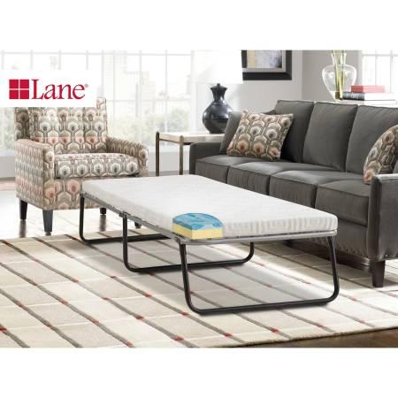 Lane Folding Foldaway Extra Guest Bed Cot With Gellux Memory Foam Gel Mattress Multiple Sizes