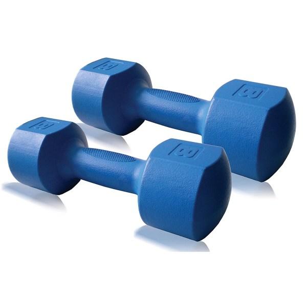 Cap Fitness 6 10 16 Lb Eco Dumbbell Pair Set