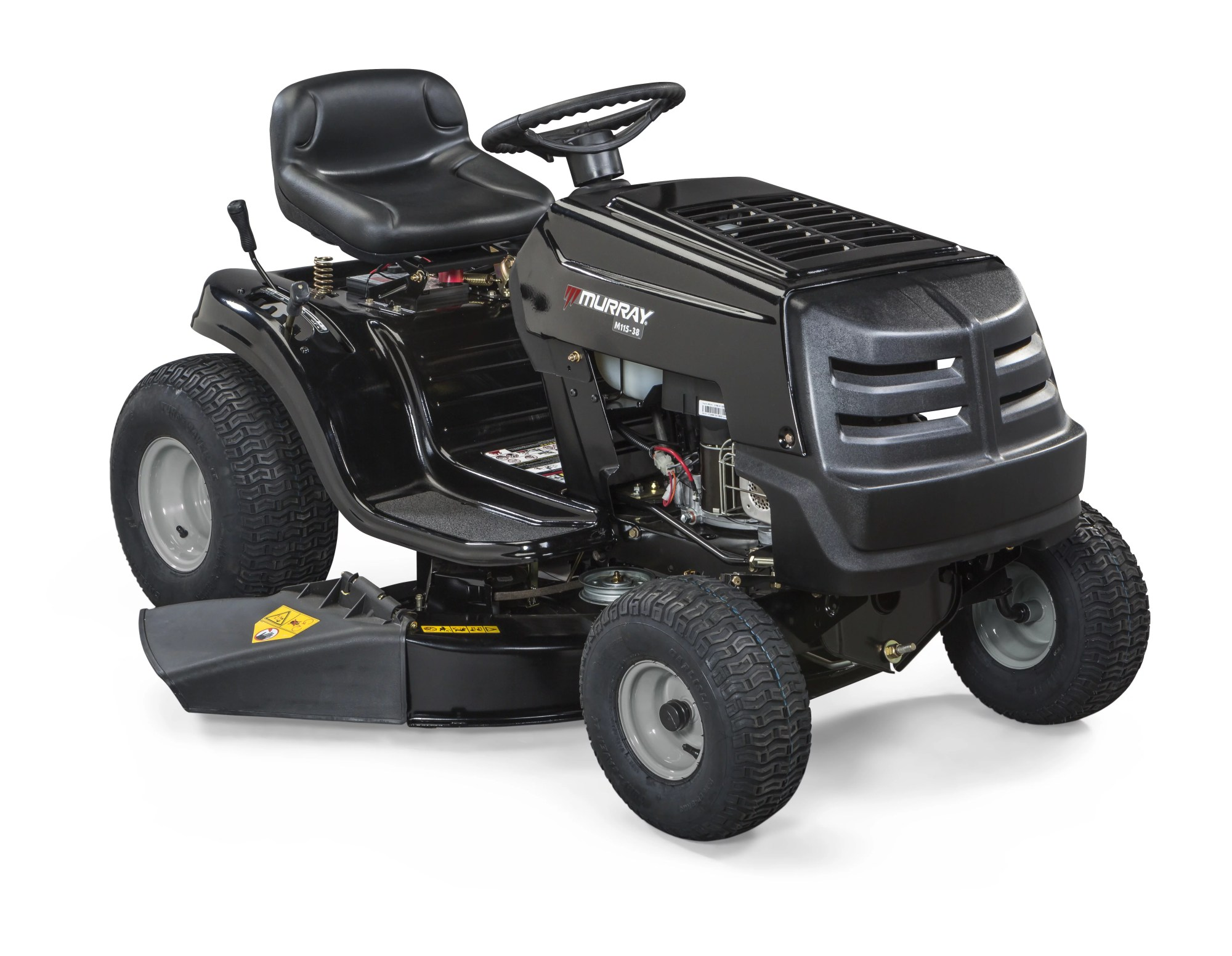 hight resolution of murray 38 11 5 hp riding mower with briggs and stratton powerbuilt engine