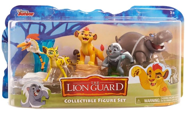 Lion Guard Figures 5 Pack Walmart