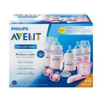Philips Avent Anti-Colic Baby Bottle Newborn Starter Set ...
