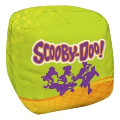 Scooby Doo Chair Distressed Dining Chairs Running Scared Bean Bag White 21x19x27 Walmart Com