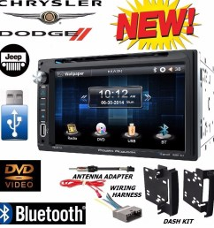 chrysler jeep dodge power acoustik bluetooth double din dvd stereo kit harness walmart com [ 987 x 1024 Pixel ]