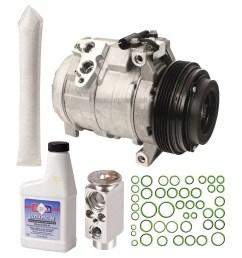 oem ac compressor w a c repair kit for bmw x5 2000 2001 2002 2003 walmart com [ 1000 x 1000 Pixel ]