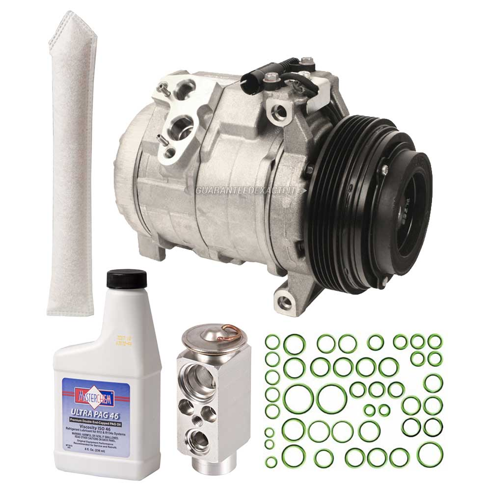 medium resolution of oem ac compressor w a c repair kit for bmw x5 2000 2001 2002 2003 walmart com