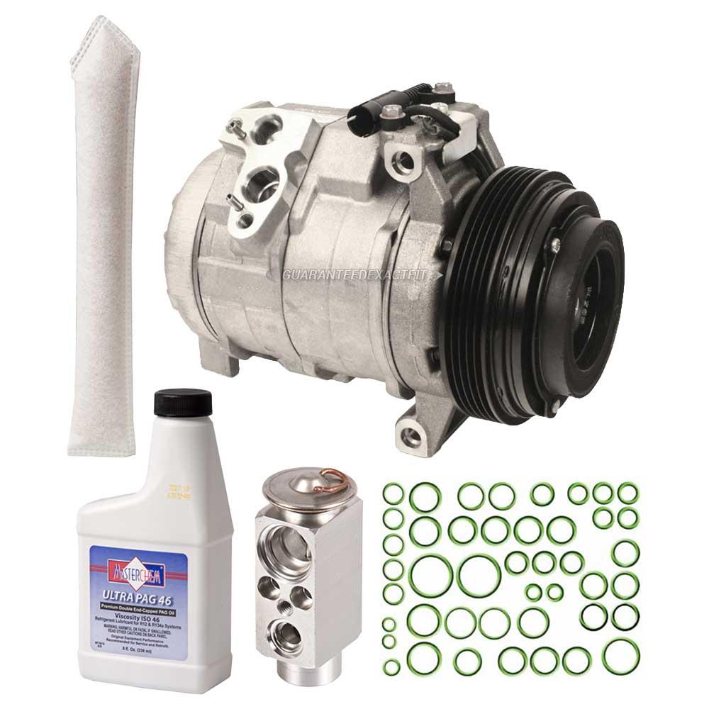 hight resolution of oem ac compressor w a c repair kit for bmw x5 2000 2001 2002 2003 walmart com