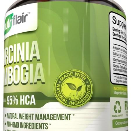 NutriFlair 95٪ HCA Pure Garcinia Cambogia، 90 كبسولة نباتية - 1400 مجم لكل وجبة NutriFlair 95٪ HCA Pure Garcinia Cambogia، 90 كبسولة نباتية – 1400 مجم لكل وجبة 28830b33 3cc9 4729 8db7 03ef828d4b0a 1