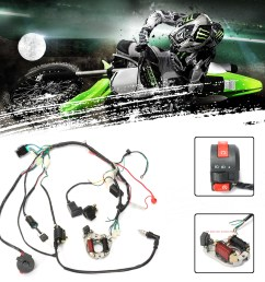 1 set wire harness wiring cdi assembly for motorcycleaccessorie 50 70 90 110cc 125cc atv quad coolster go kart walmart com [ 1200 x 1200 Pixel ]