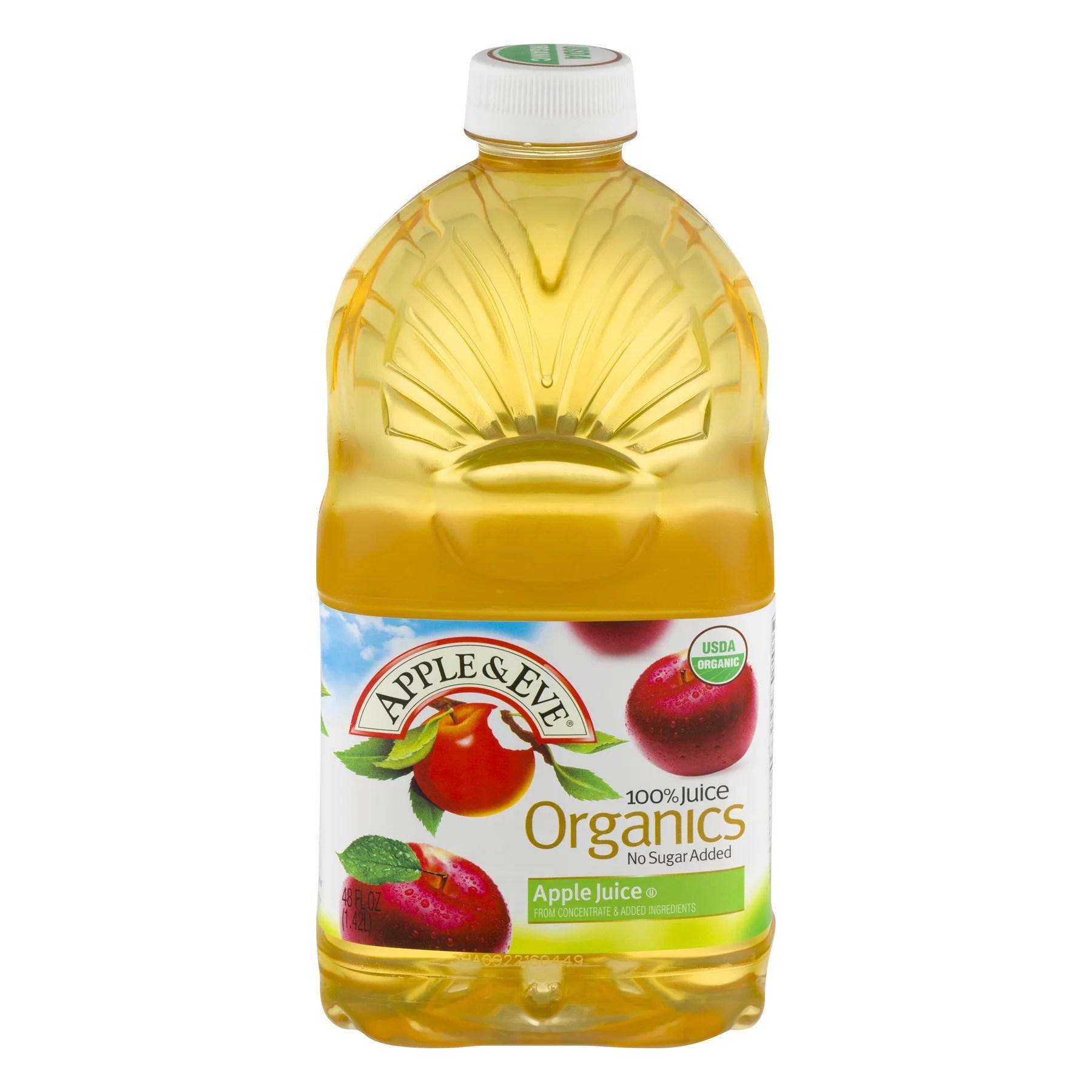 Apple Eve Organics Apple 100 Juice 48 fl oz Bottle