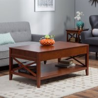 Belham Living Hampton Lift-Top Coffee Table - Cherry ...