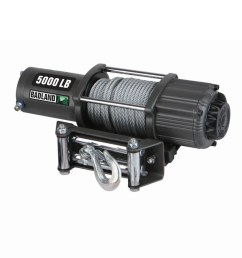 badland electric winch 5000 lb atv utility automatic load holding brake 61384 walmart com [ 1200 x 1200 Pixel ]