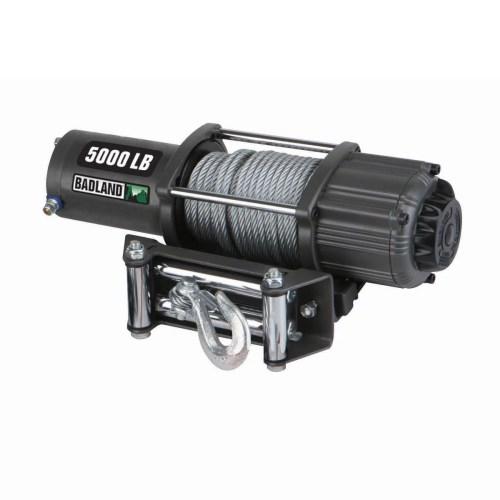 small resolution of badland electric winch 5000 lb atv utility automatic load holding brake 61384 walmart com