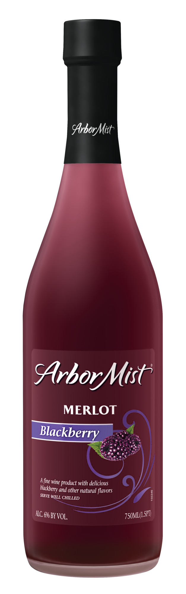 Arbor Mist Blackberry Merlot Fruit Wine 750 mL Bottle ...