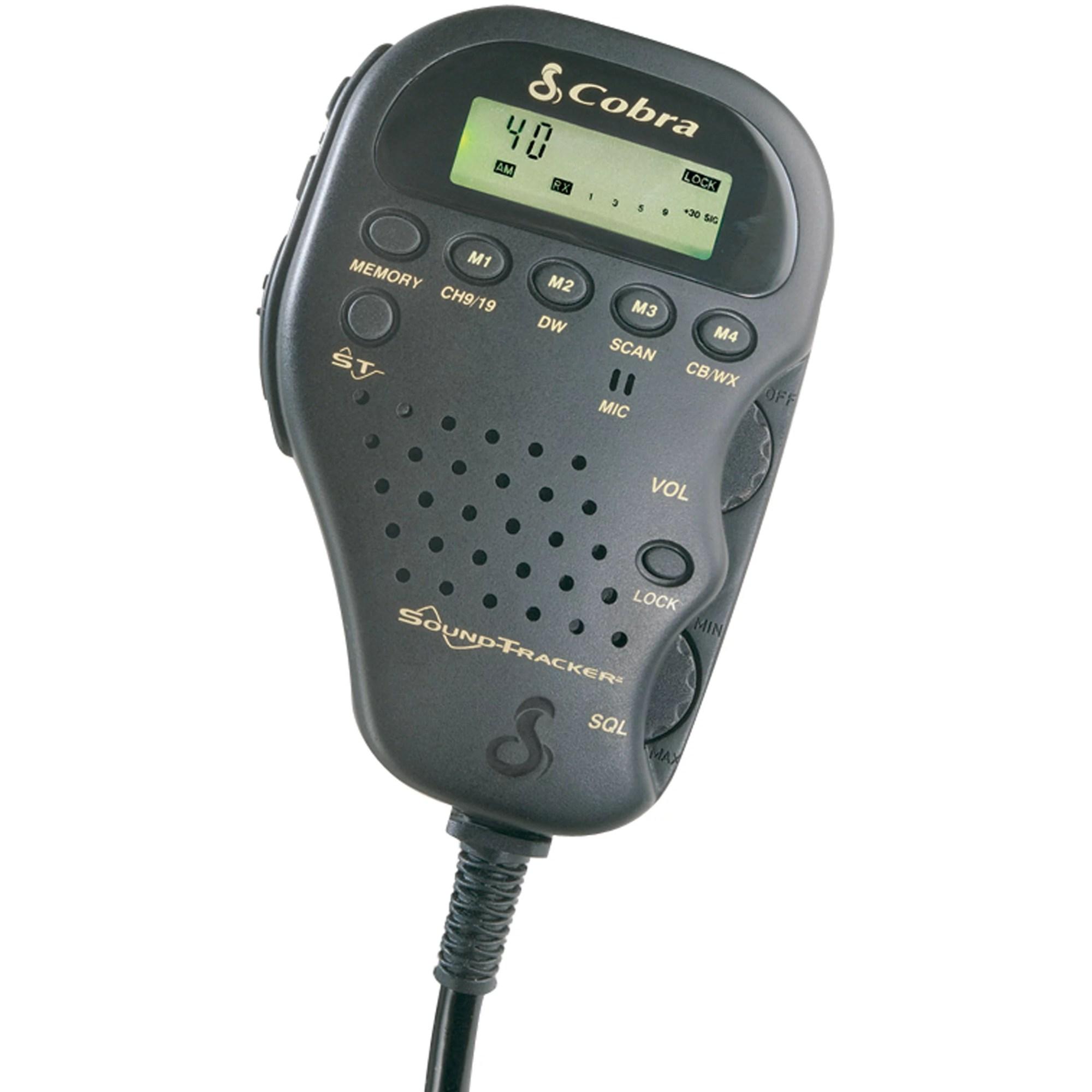 hight resolution of cobra electronics corporation 75 wx st radio cb remote 75 wx st walmart com