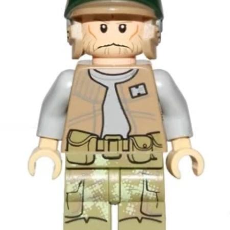 Lego Star Wars Endor Rebel Trooper 2 Olive Green Commander Rex Minifigure