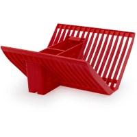 Farberware Folding X Rack Plate Holder, Red - Walmart.com