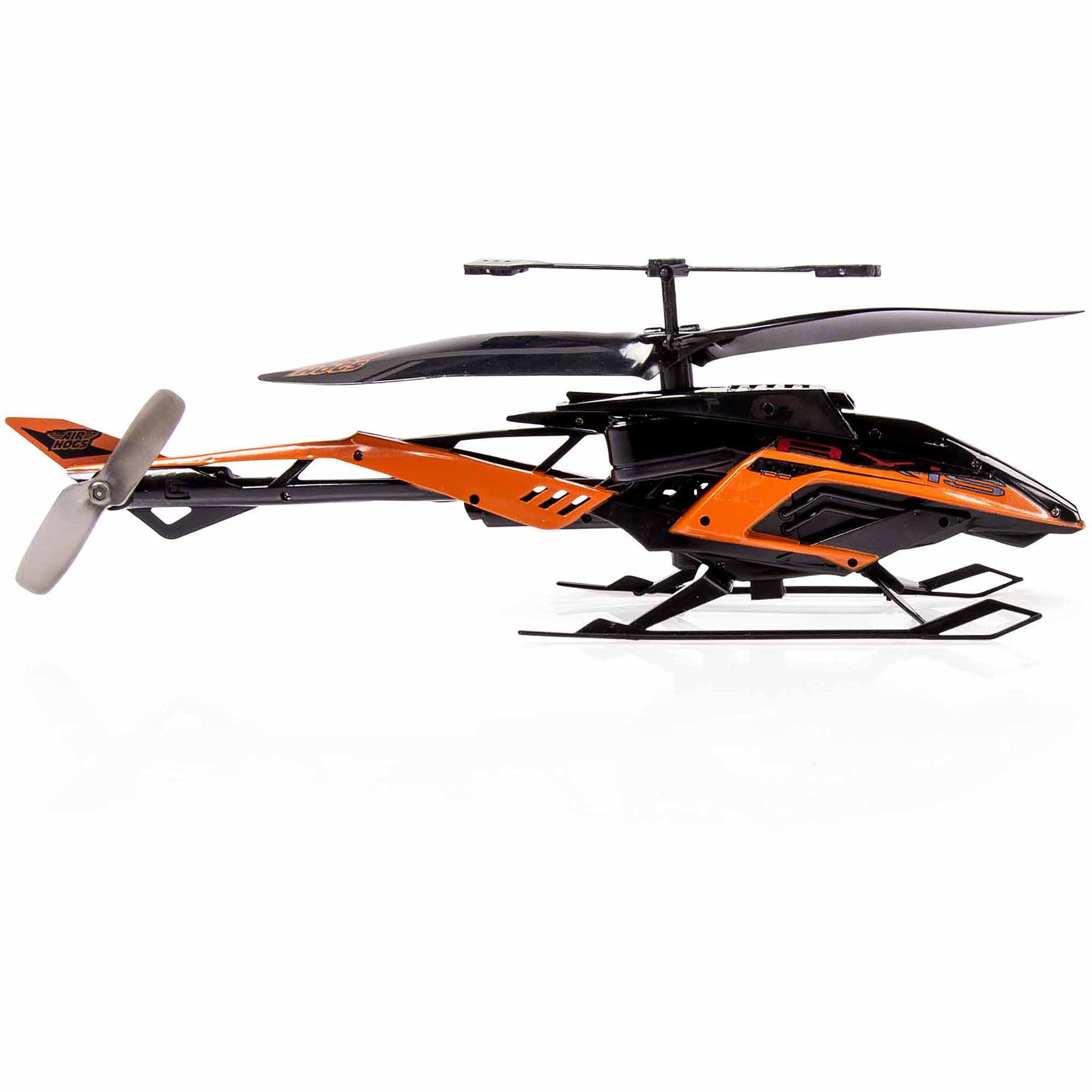 hight resolution of air hogs rc axis 400x r c helicopter in colors black silver black orange walmart com