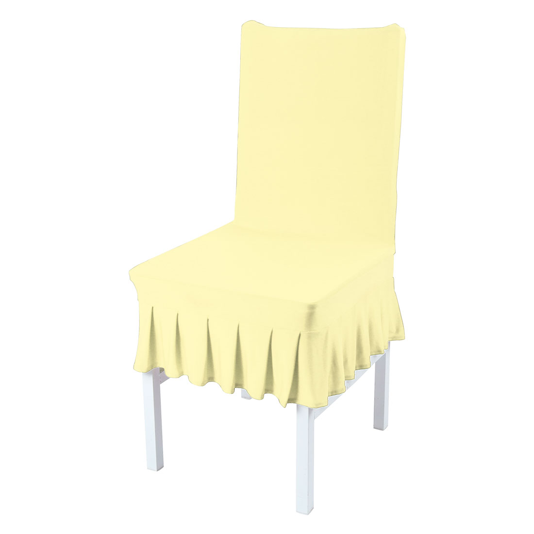 stretch dining chair covers mickey mouse piccocasa spandex protector seat slipcover light yellow walmart com